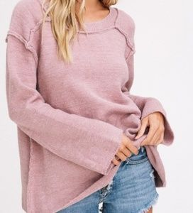 🌟Just In! 🌟Loose Fit Slouchy Mauve Sweater